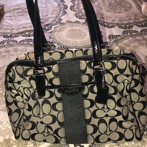 Real Coach handbag. Lightly used.